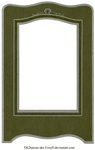 1929 Vintage Photo Frame from Pressed Cardboard