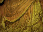 Backdrop Vintage Theater Stage Curtain - Amber