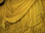 Backdrop Vintage Theater Stage Curtain - Gold