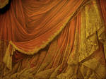 Backdrop Vintage Theater Stage Curtain - Sunset