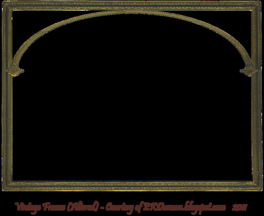 Antique Gold Frame Png Antique Gold Frame Altered