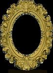 Ornate Gold Frame - Oval 1
