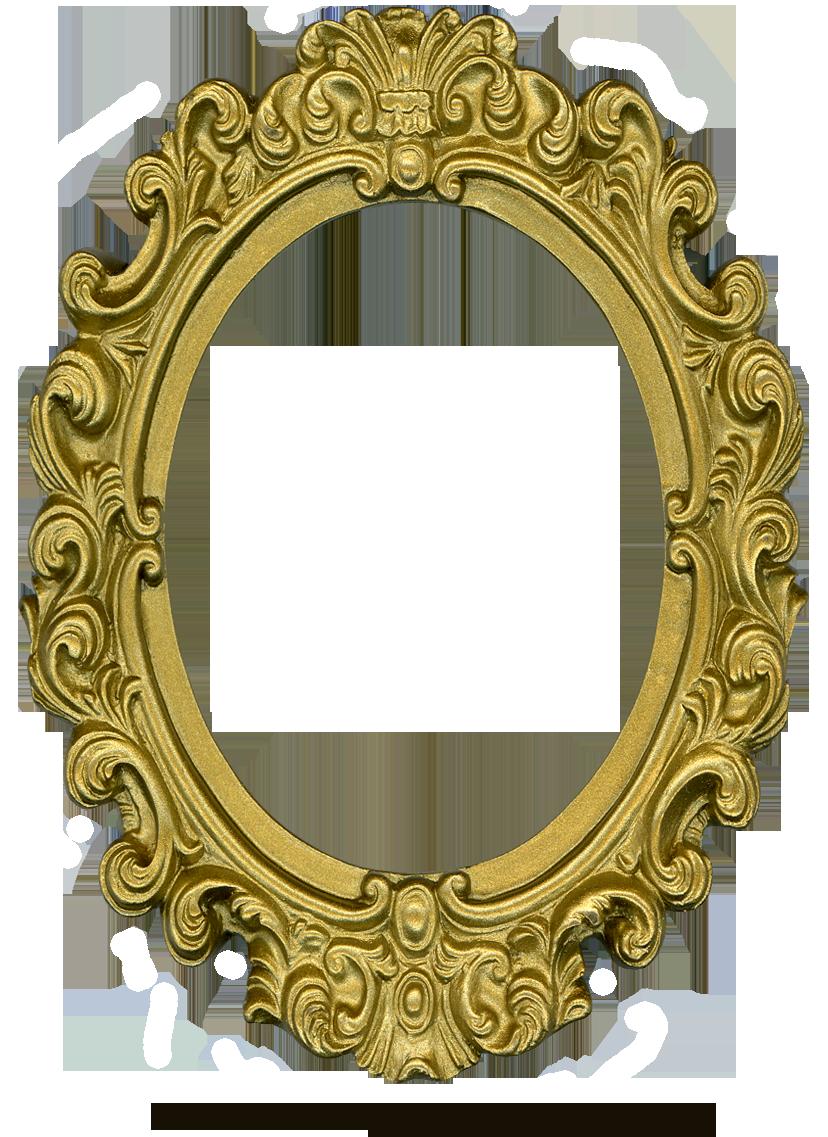 Ornate Gold Frame - Oval 1 by EveyD on DeviantArt