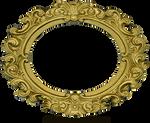 Ornate Gold Frame - Oval 2