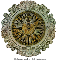 Ornate Framed Compass - Created by EKD by EveyD