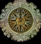 Ornate Framed Compass - Created by EKD