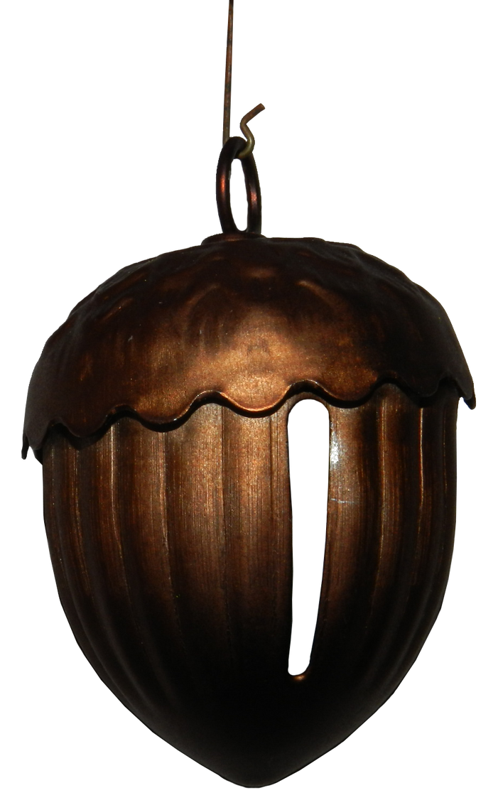 Acorn Christmas Bell Ornament by EveyD