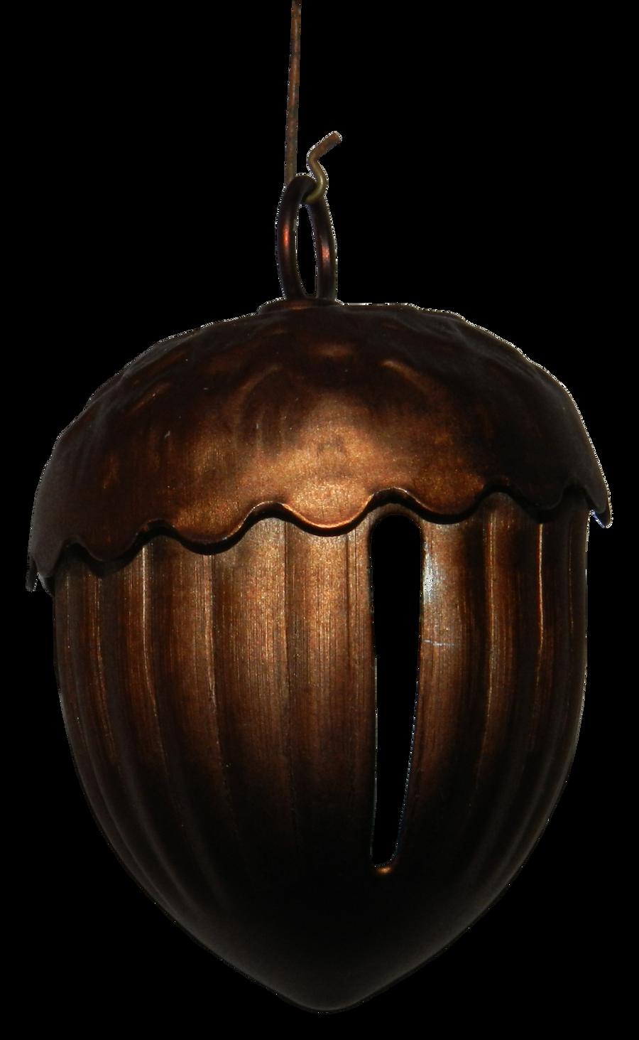 Acorn Christmas Bell Ornament by EveyD
