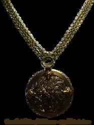 Vintage Viking Shield Necklace