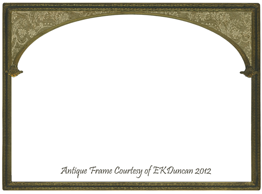 Antique Gold Frame Png Antique Gold Frame Altered