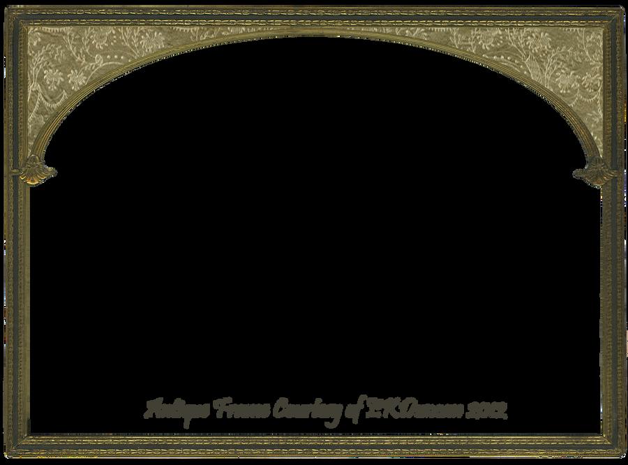 Antique Gold Frame - Altered Version 2
