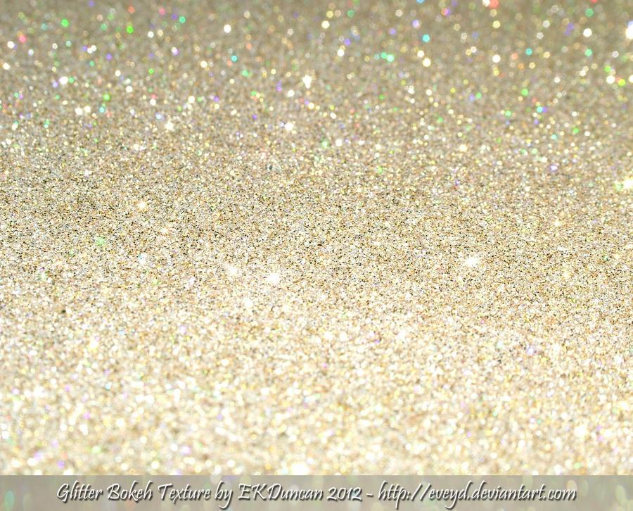Bokeh Glitter Gold 1 Texture Background