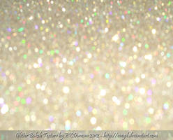 Bokeh Glitter Gold 6 Texture Background by EveyD