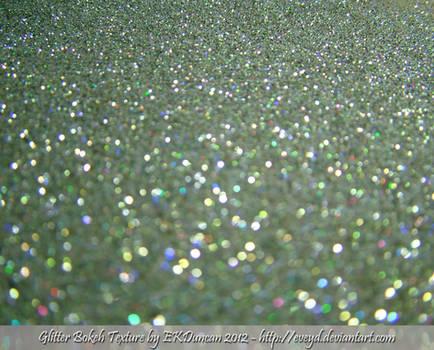 Mint Green 4 Bokeh Glitter Texture Background