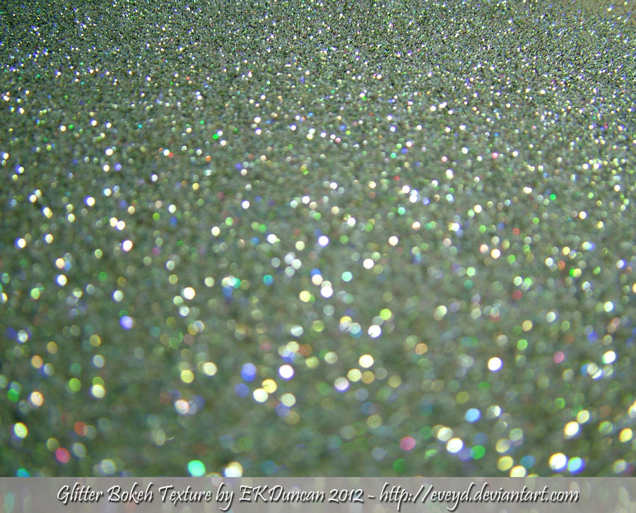 Mint Green 4 Bokeh Glitter Texture Background By EveyD