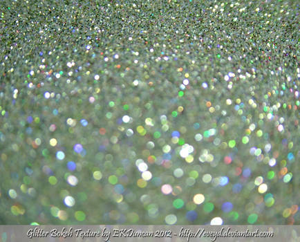 Mint Green 7 Bokeh Glitter Texture Background