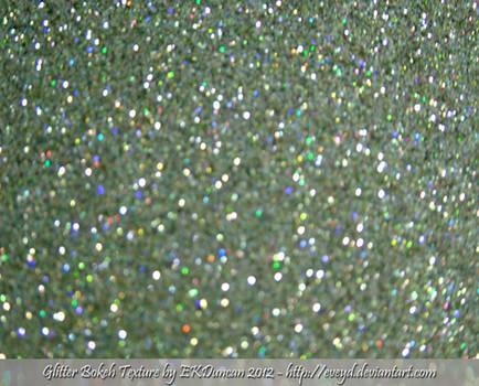 Mint Green 8 Bokeh Glitter Texture Background