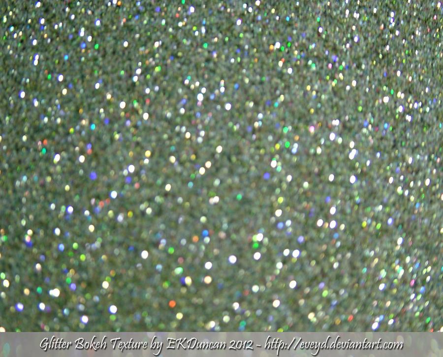 Mint Green 8 Bokeh Glitter Texture Background By EveyD