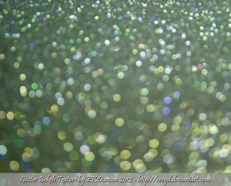 Mint Green 9 Bokeh Glitter Texture Background By EveyD