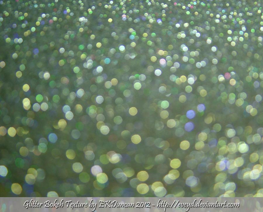 Mint Green 9 Bokeh Glitter Texture Background