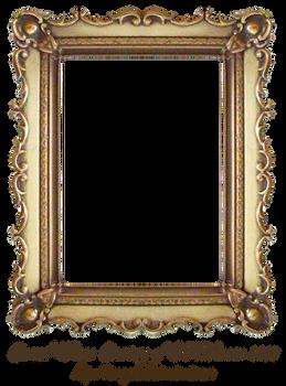 Carved Gold Frame by EKDuncan