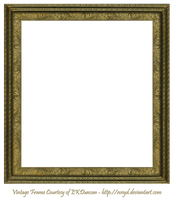 Antique Scroll Frame Square Creation EKDuncan by EveyD