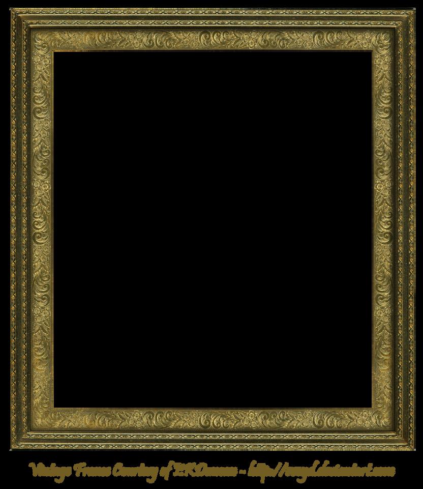 Antique Scroll Frame Square Creation EKDuncan by EveyD on DeviantArt