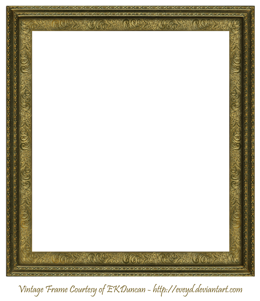 Antique Scroll Frame Square Creation EKDuncan by EveyD on DeviantArt