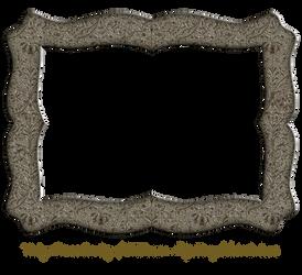 Funky Embossed Metal Frame 6 by EKDuncan