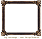 Elaborate Wood Frame by EKDuncan