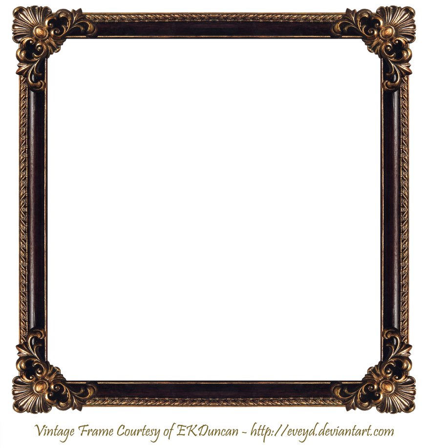 Elaborate Wood Frame 2 by EKDuncan by EveyD on DeviantArt