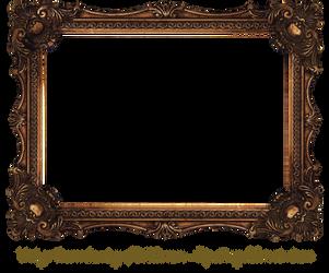 Elaborate Wood Scroll Frame by EKDuncan by EveyD