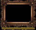 Elaborate Wood Scroll Frame by EKDuncan