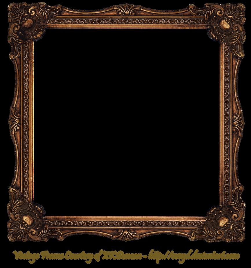 Wood Photo Frames Png : Elaborate Wood Scroll Frame 2 by EKDuncan by EveyD on DeviantArt