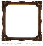 Elaborate Wood Scroll Frame 2 by EKDuncan