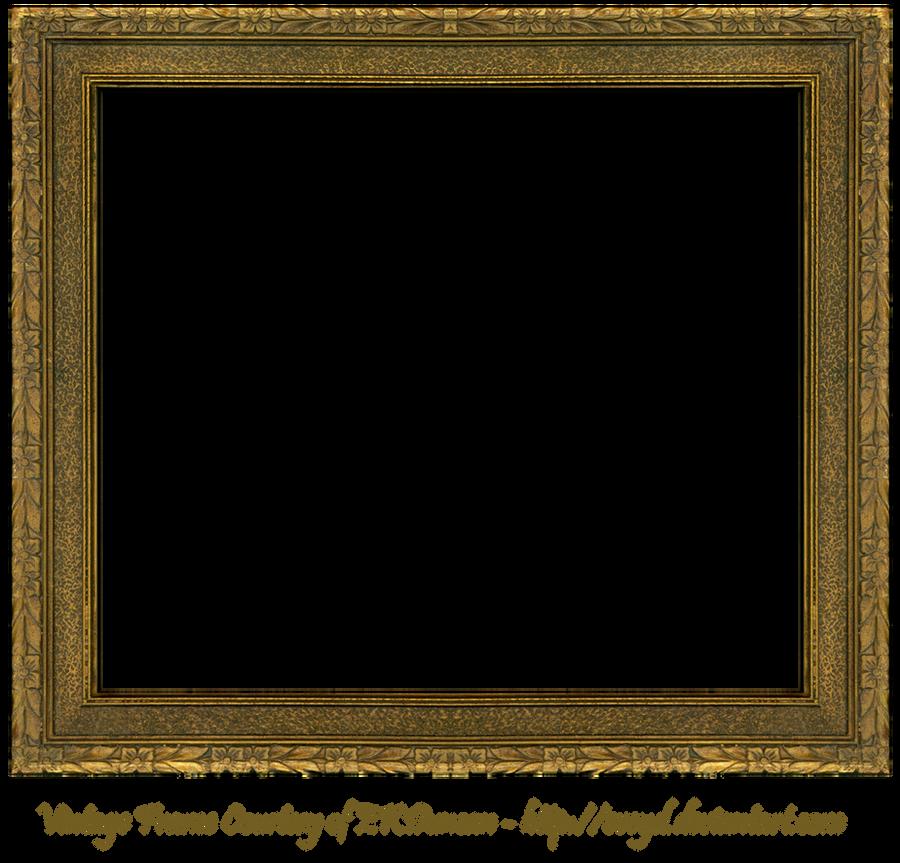 Floral Embossed Frame 3 by EKDuncan