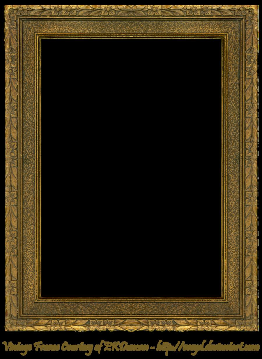 Wood Photo Frames Png : Floral Embossed Frame 5 by EKDuncan by EveyD on DeviantArt