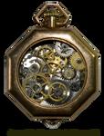 Ladies Steampunk Timepiece from Vintage Parts