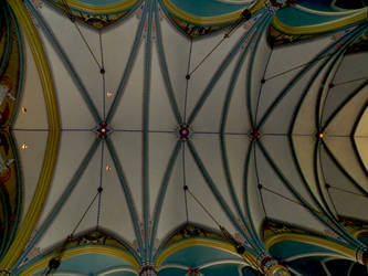 Gothic Painted Cathedral Ceiling photo by EKDuncan
