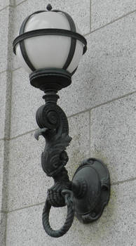 Vintage Light Fixture Claw and Ball 2