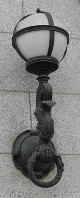 Vintage Light Fixture Claw and Ball 3