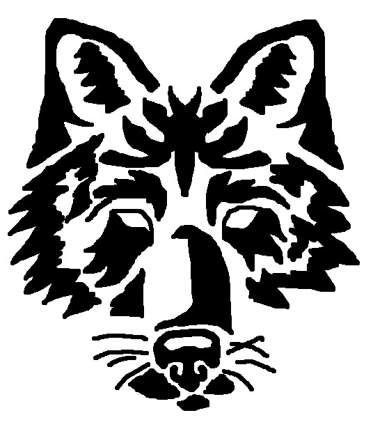 Wolf Image Drawing Easy to Draw Tribal Wolf Head