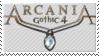 Arcania: Gothic 4 stamp by Piranjak
