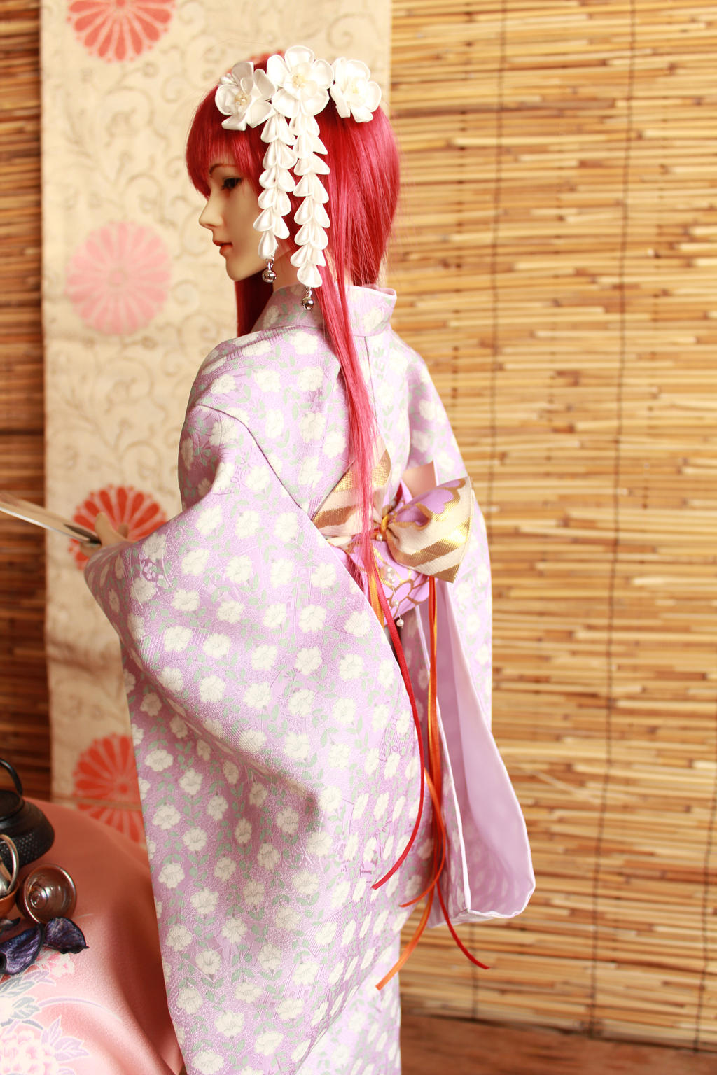 BJD kimono, Noble Everyday by InarisansCrafts