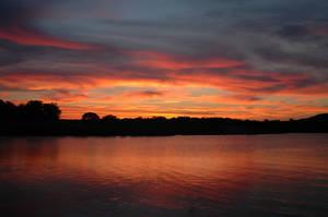 Camping Sunset by jake10684