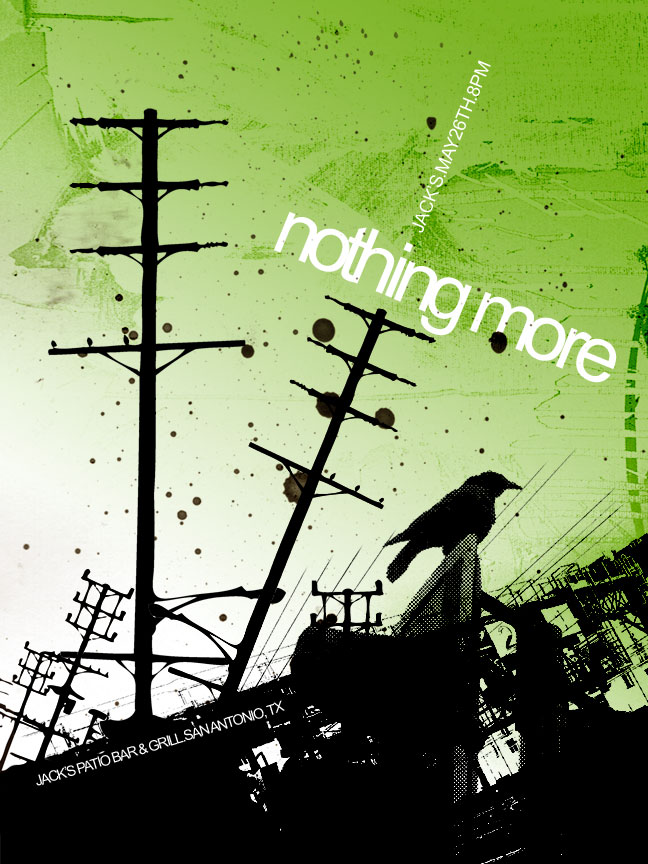 Nothing More gig poster