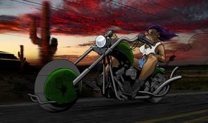 Biker Chick - WIP