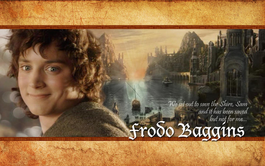 a focus on the character frodo baggins in the hobbit Summary thorin prevails upon bilbo to enter the mountain  the hobbit  this  decision is described as being central to bilbo's character and significant in that.