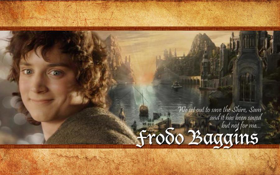 Frodo Baggins Wallpaper By Drkay85 ...