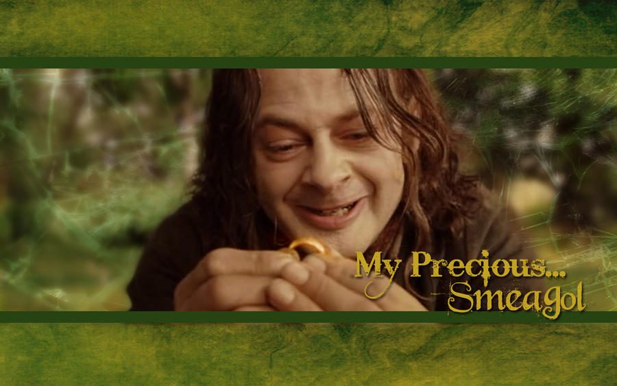 wallpaper of smeagol and the ring of powerSmeagol Ring